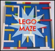 Do your kids love LEGOS as much as mine? This LEGO Maze is great for working on problem-solving and cognitive thinking.