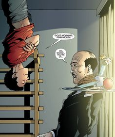 Alfred and Damian