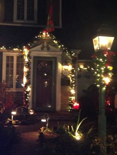 Christmas in Stewart Manor, NY