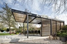 Free Standing | Umbris Louvre Roofs - inspirations