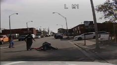 #Dashcam video shows brutal beating of #Chicago #cop...