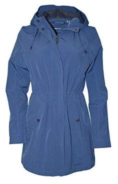 Kenneth Cole Reaction Hooded Wool Blend Walker Coat   Black NWT