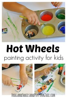 Hot wheels painting
