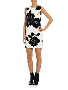 Dolce & Gabbana - Rose Jacquard Coat - Saks.com