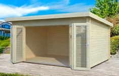 Lea 14.2sqm log cabin