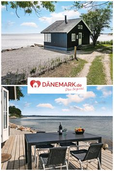Ferienhaus in Frydenlund Strand You can't get any closer than the sea and the forest than in this holiday home! Camping Holiday, Beach Holiday, Holiday Places, Holiday Destinations, Road Trip Hacks, Camping Hacks, Diy Outdoor Furniture, Outdoor Decor, Seaside Holidays