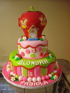 Strawberry Shortcake Cake - So Pretty!