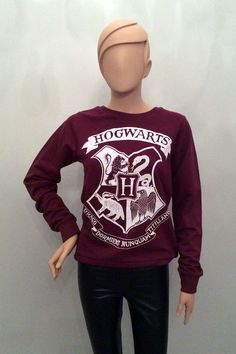 Primark Official HARRY POTTER HOGWARTS Crest Logo JUMPER SWEATSHIRT in Clothes, Shoes & Accessories, Women's Clothing, Jumpers & Cardigans | eBay