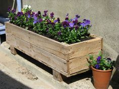 love this wooden planter...where can i find one?