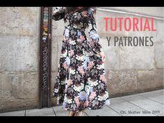 DIY Costura: Vestido largo de mujer (patrones gratis) – Corte & Costura