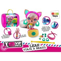 Juguete VIP PETS LEAH VIAJA A BRASIL Precio 18,91€ en IguMagazine #juguetesbaratos