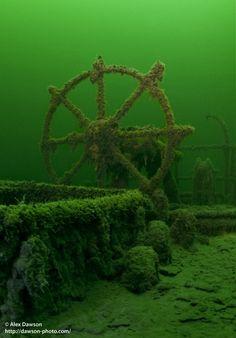 SS Karla - Sweden - © Alex Dawson - http://dawson-photo.com/ www.flowcheck.es Taller de equipos de buceo #buceo #scuba #dive