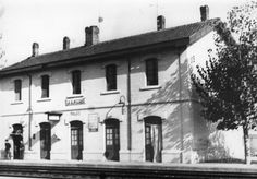 Estación de la Almozara, Zaragoza Parking Lot, Zaragoza, Antique Photos, Train