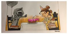 Star Wars Comic (Calvin and Hobbes) - Rey and Kylo Ren