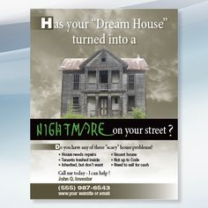1000+ images about Real Estate Flyer Designs for Investors ...