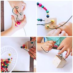 Easy Art for Kids: Wire Sculpture