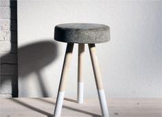 Eine detaillierte Anleitung um einen Hocker aus Beton selber herzustellen. Zahlreiche weitere DIY Anleitungen auf diyhelden.de