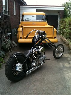 Panhead chopper | Chopper Inspiration - Choppers and Custom Motorcycles | the-ghost-darkness November 2014