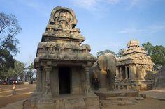 Nakula and Sahadevaratha ratha - Mamallapuram, Tamilnadu