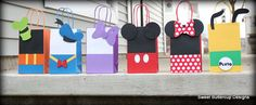 Mickey Mouse Club House Party Hats by SBCDesign on Etsy, $20.00