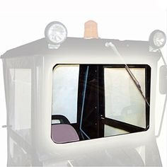 """Original Tractor Cab Safety Glass Windshield Upgrade for Hard Top Cab Enclosures  Safety glass windshield provides more durability and visibility than standard lexan windshield. This safety glass is required for use of the electric wiper. Windshield Dimensions:Visible glass is 18 1/4″ tall and 28 ¼"""" wide. The frame is 23 ¾"""" tall …  Read More  http://industrialsupply.mobi/shop/original-tractor-cab-safety-glass-windshield-upgrade-for-hard-top-cab-enclosures/"""