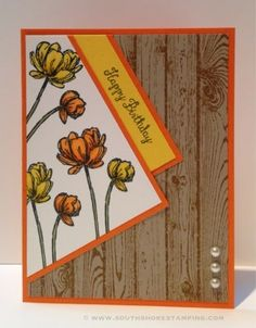 South Shore Stamping: Hardwood and Blooms - PPA225 - Stampin' Up! Card by Emily Mark SU demo Greenfield Park, Quebec www.southshorestamping.com