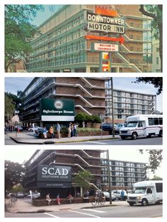 A look at O House over the years.  #SCAD #Savannah