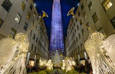 Christmas time at Rockefeller center, Ne Photo by Viet Dao -- National Geographic Your Shot