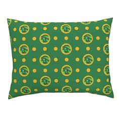 Campine Pillow Sham featuring Pin&Pon Poppipef by joancaronil | Roostery Home Decor