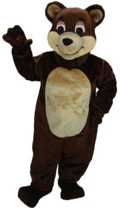 Cartoon Bear Mascot Costume MaskUS Costumes http://www.amazon.com/dp/B001GWL3EI/ref=cm_sw_r_pi_dp_z4g8vb13JQ5X8