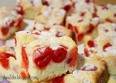 Clipe dulci si parfumate: Prajitura cu visine Cherry Cake, Sour Cherry, French Toast, Cheesecake, Favorite Recipes, Breakfast, Desserts, Sweets, Food