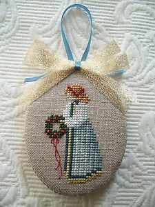 Christmas Angel ~ Told in a Garden lovely finish