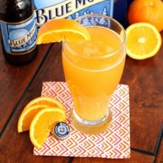 Citrus Beer Cocktail I can use one right about now. It's five o'clock somewhere