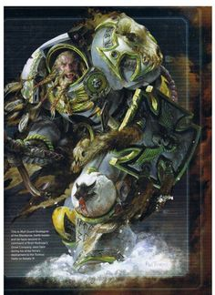Warhammer 40k Space Wolves spacemarine