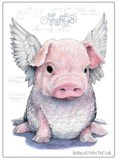 Невероятные рисунки животных от Rob Foote