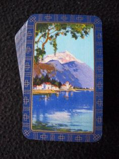 VINTAGE 1930's PACK OF MINIATURE GOODALL PLAYING CARDS - LOCARNO SWITZERLAND  | eBay