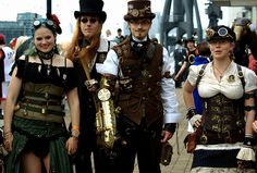 SteamPunk at MCM London Comic Con