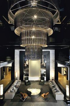 Le Meridien Chiang Rai, Thailand designed by Wimberly Allison Tong and Goo (WATG) Architects :: lobby