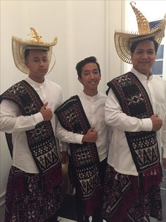 Traditional Outfit from Rote NTT Indonesia