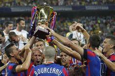 Steaua a castigat Supercupa Romaniei