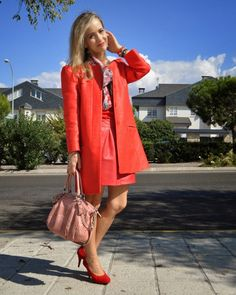 Lady Trends: Red on Red #kissmylook