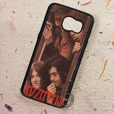 Vintage Poster Band Led Zeppelin - Samsung Galaxy S7 S6 S5 Note 7 Cases & Covers