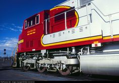 RailPictures.Net Photo: ATSF 222 Atchison, Topeka & Santa Fe (ATSF) EMD SD75M at Belen, New Mexico by Mike Danneman