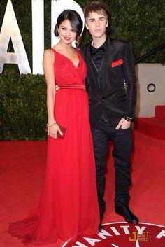 Selena Gomez Evening Dress Oscars Red Carpet Chiffon Celebrity Bridesmaid Dress