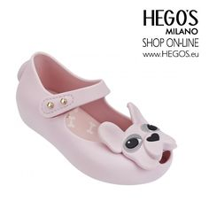 Mini Melissa - Pink French bulldog for the little princess Autumn/Winter 15/16 Collection HEGO'S