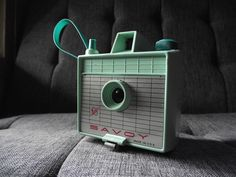 Mint Green 1960's Savoy Camera by JuniperHome on Etsy