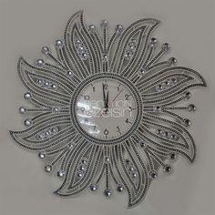 Elmas İşlemeli Duvar Saati https://www.benimicinozelsin.com/aksesuar/elmas-islemeli-duvar-saati-4 #saat #benimiçinözelsin #hediye #hediyelikeşya