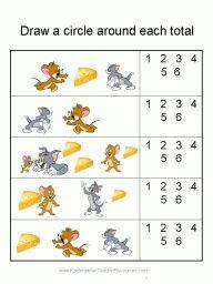 Tom and Jerry Math Workbook