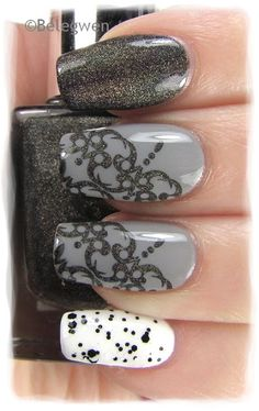Nail Art by Belegwen #nail #nails #nailart