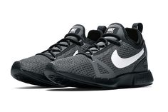 b7c92d725b53 Nike s Duel Racer Goes to the Dark Side With New Black and White Colorway